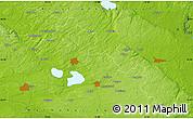 Physical Map of Askeröd