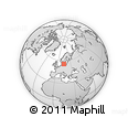 """Outline Map of the Area around 55° 56' 31"""" N, 14° 31' 30"""" E, rectangular outline"""