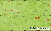 Physical Map of Ivano-Konstantinovskoye