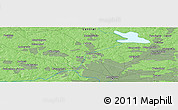 Political Panoramic Map of Krasnogorsk