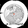 Outline Map of Lesotorgovaya Baza, rectangular outline