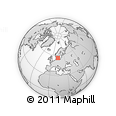 Outline Map of Björnhult, rectangular outline