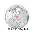 """Outline Map of the Area around 56° 18' 50"""" N, 36° 37' 30"""" E, rectangular outline"""
