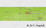 """Physical Panoramic Map of the area around 56°18'50""""N,36°37'30""""E"""