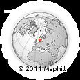 Outline Map of DALARNA, rectangular outline