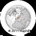 Outline Map of Håbol, rectangular outline