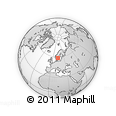 Outline Map of Björrud, rectangular outline