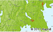 """Physical Map of the area around 59°13'17""""N,12°49'29""""E"""
