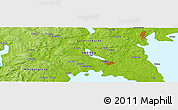 """Physical Panoramic Map of the area around 59°13'17""""N,12°49'29""""E"""