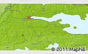 """Physical 3D Map of the area around 59°13'17""""N,15°22'30""""E"""