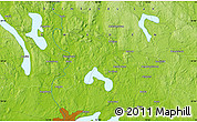 "Physical Map of the area around 59° 34' 34"" N, 13° 40' 30"" E"