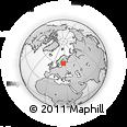 Outline Map of Tallinn, rectangular outline