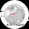 Outline Map of Sokol, rectangular outline
