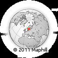 Outline Map of Näs, rectangular outline