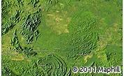 "Satellite Map of the area around 5°25'24""N,117°22'30""E"