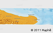 """Political Panoramic Map of the area around 5°25'24""""N,119°4'29""""E"""