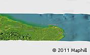 "Satellite Panoramic Map of the area around 5°25'24""N,119°4'29""E"