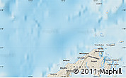"""Shaded Relief Map of the area around 5°25'24""""N,119°55'30""""E"""