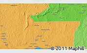 Political 3D Map of Zoungouyassi