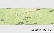 Physical Panoramic Map of Zoungouyassi