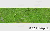 Satellite Panoramic Map of Zoungouyassi