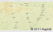 Physical 3D Map of Bakolé