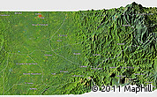 """Satellite 3D Map of the area around 5°25'24""""N,76°25'30""""W"""