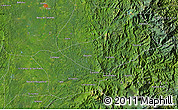 """Satellite Map of the area around 5°25'24""""N,76°25'30""""W"""