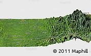 "Satellite Panoramic Map of the area around 5°25'24""N,76°25'30""W"