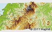 Physical 3D Map of Kampong Kationg