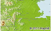 Physical Map of Samawang