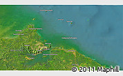 Satellite 3D Map of Kampong Baharu