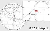 Blank Location Map of Kampung Gelam