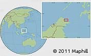 Savanna Style Location Map of Kampung Gelam