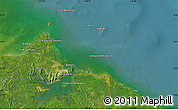 Satellite Map of Sandakan