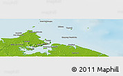 Physical Panoramic Map of Kampung Gelam