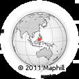 Outline Map of Patikul, rectangular outline