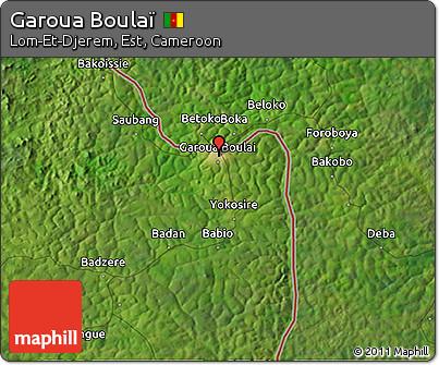 Free Satellite 3D Map of Garoua Boula