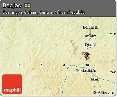 Free Physical Map of Badjao