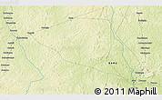 Physical 3D Map of Yamalé