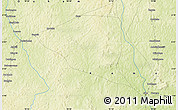 """Physical Map of the area around 5°56'49""""N,18°46'29""""E"""