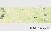 Physical Panoramic Map of Yamalé