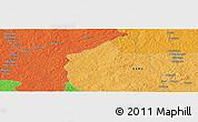 Political Panoramic Map of Bayala