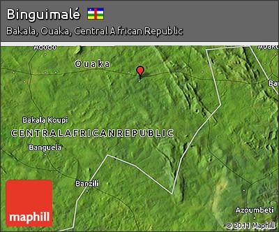 Satellite 3D Map of Binguimalé