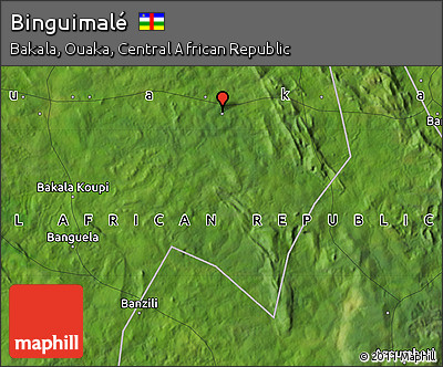 Satellite Map of Binguimalé
