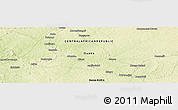 Physical Panoramic Map of Binga