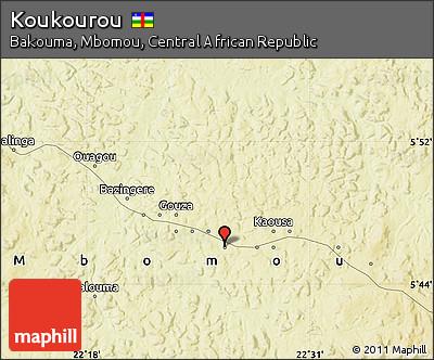Physical Map of Koukourou