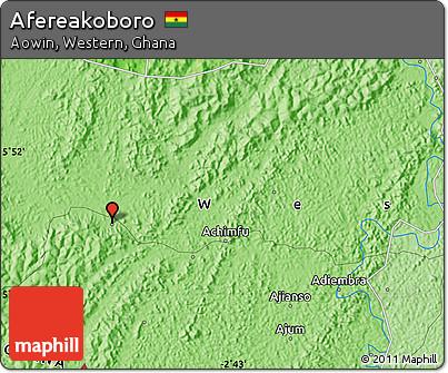 Political Map of Afereakoboro