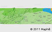 Political Panoramic Map of Anwiem