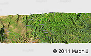 Satellite Panoramic Map of Solemo